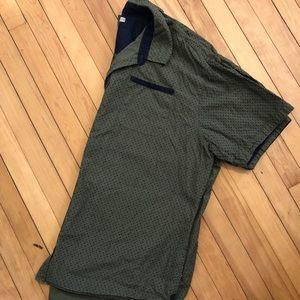 Men's short sleeve dress shirt